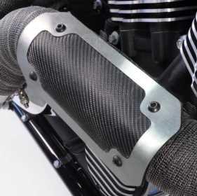 Onyx™ Series Exhaust Heat Shield 010902