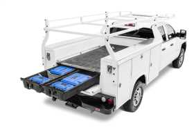 Service Body Truck Bed Storage System