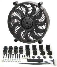 Radiator Pusher/Puller Fan