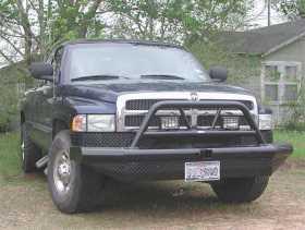 Legend BullNose Series Front Bumper BTD941BLR