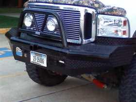Legend BullNose Series Front Bumper BTF051BLR
