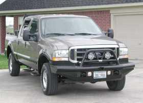 Legend BullNose Series Front Bumper BTF991BLR
