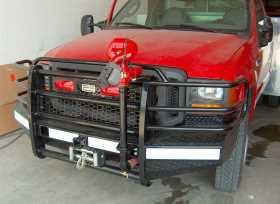 Sport Series Winch Ready Front Bumper FBF055BLR