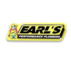 Earls Metal Sign