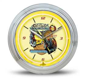 Earls Neon Wall Clock