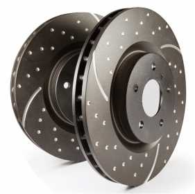 EBC 3GD Series Sport Slotted Rotors