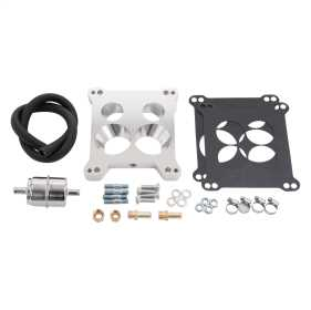 QuadraJet Adapter and Fuel Line Kit