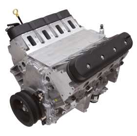 Long Block Crate Engine