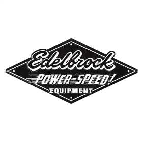 Edelbrock Metal Sign