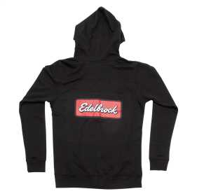 Edelbrock Badge Zip Up Womens Sweatshirt