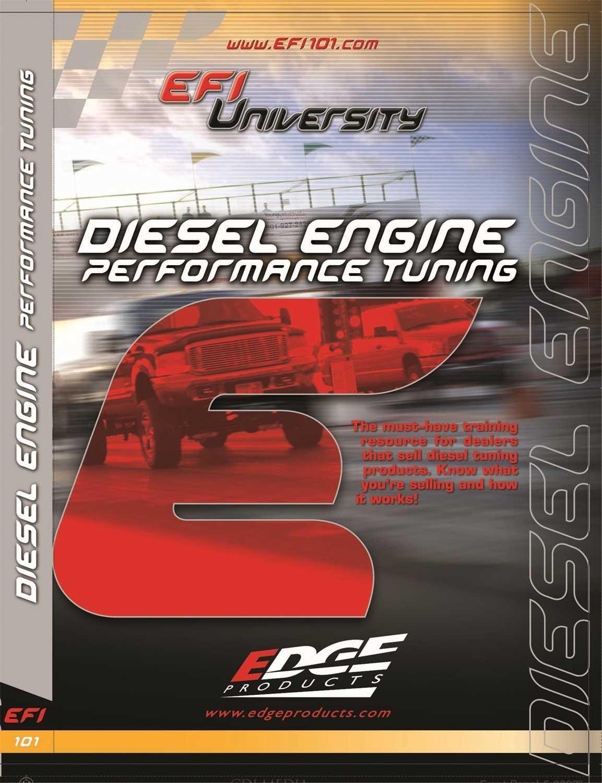 99010 Edge Products EFI University Diesel Engine Performance Tuning DVD