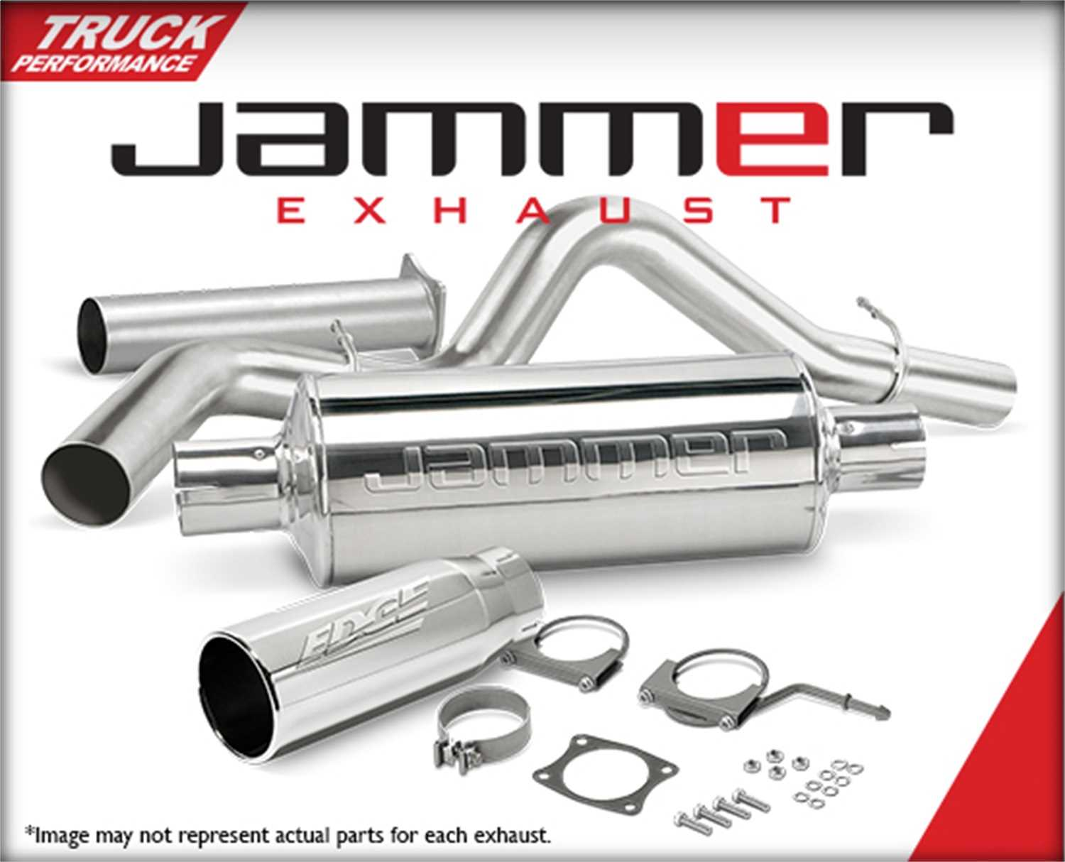17658 Edge Products Jammer Exhaust