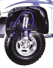Multiple Front Shock System