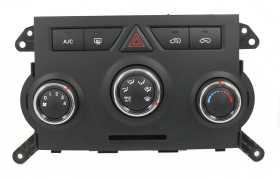 AC Heat Climate Emergency Control Panel