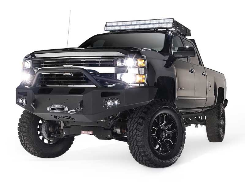 Premium Heavy Duty Winch Front Bumper CH05-A1352-B