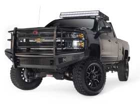Black Steel Front Ranch Bumper