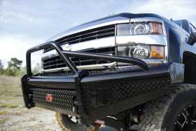 Black Steel Front Ranch Bumper CH08-S2062-1