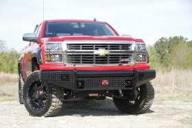 Black Steel Front Bumper CS14-K3061-1