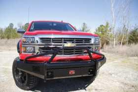 Black Steel Front Bumper CS14-K3062-1