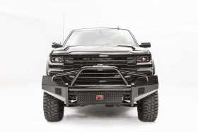 Black Steel Front Bumper CS16-K3862-1