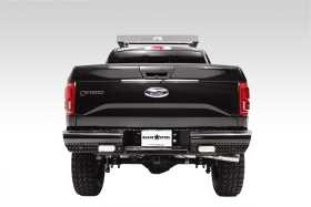 Black Steel Ranch Rear Bumper FF15-T3250-1
