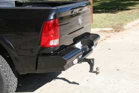 Black Steel Ranch Rear Bumper DR03-T1050-1