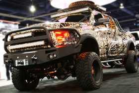 Premium Heavy Duty Winch Front Bumper DR10-A2950-1