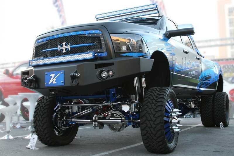 Premium Heavy Duty Winch Front Bumper DR10-A2951-1