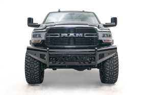 Black Steel Front Bumper DR19-S4461-1