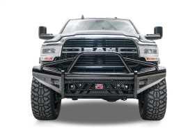 Black Steel Front Bumper DR19-S4462-1