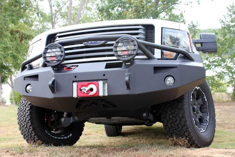 Premium Heavy Duty Winch Front Bumper FF09-H1952-1