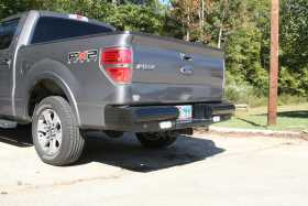 Black Steel Ranch Rear Bumper FF09-T1750-1