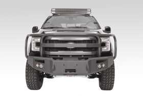 Premium Heavy Duty Winch Front Bumper FF15-H3250-1
