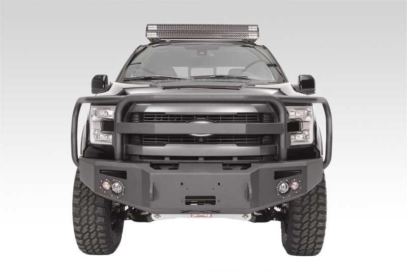 Premium Heavy Duty Winch Front Bumper FF15-H3250-B
