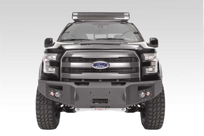 Premium Heavy Duty Winch Front Bumper FF15-H3251-1
