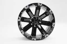 FF521 Series Black Wheel