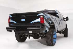 Black Steel Ranch Rear Bumper FS08-T1350-1