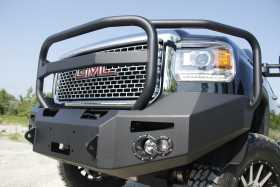 Premium Heavy Duty Winch Front Bumper GM14-A3150-1