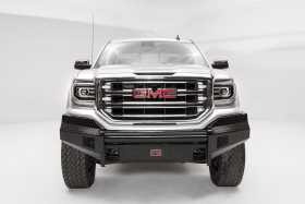 Black Steel Front Bumper GS16-K3961-1