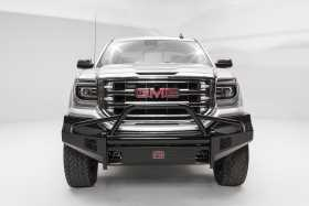 Black Steel Front Bumper GS16-K3962-1