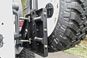 Off The Door Tire Carrier