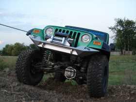Lifestyle Winch Front Bumper JP97-B1451-1