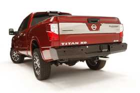 Black Steel Ranch Rear Bumper NT16-T3750-1