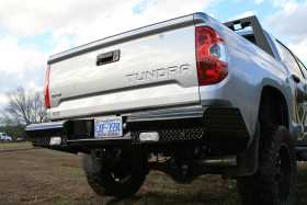 Black Steel Ranch Rear Bumper TT14-T2850-1