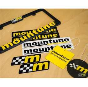 Mountune License Plate/Decal/Air Freshener Set