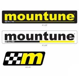 Mountune Sticker Set