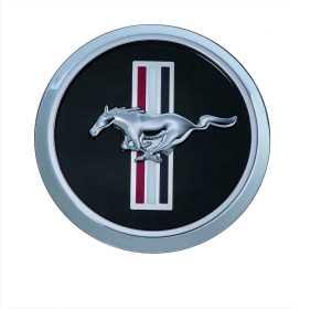 Mustang Bar & Pony Wheel Cap