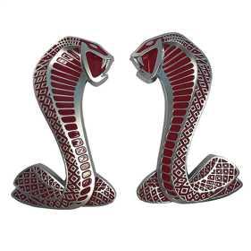 SVT Cobra Snake Fender Emblems