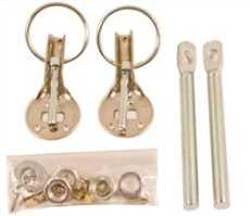 Hood Pin Kit