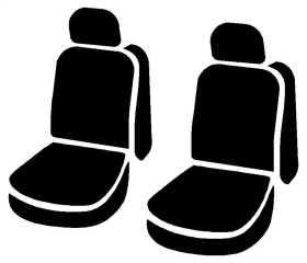 LeatherLite™ Custom Seat Cover SL69-46 BLK/BLK